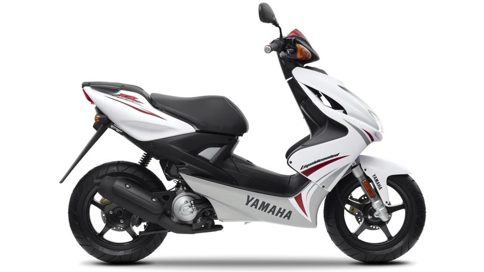 Yamaha Aerox Eu Sports White Studio