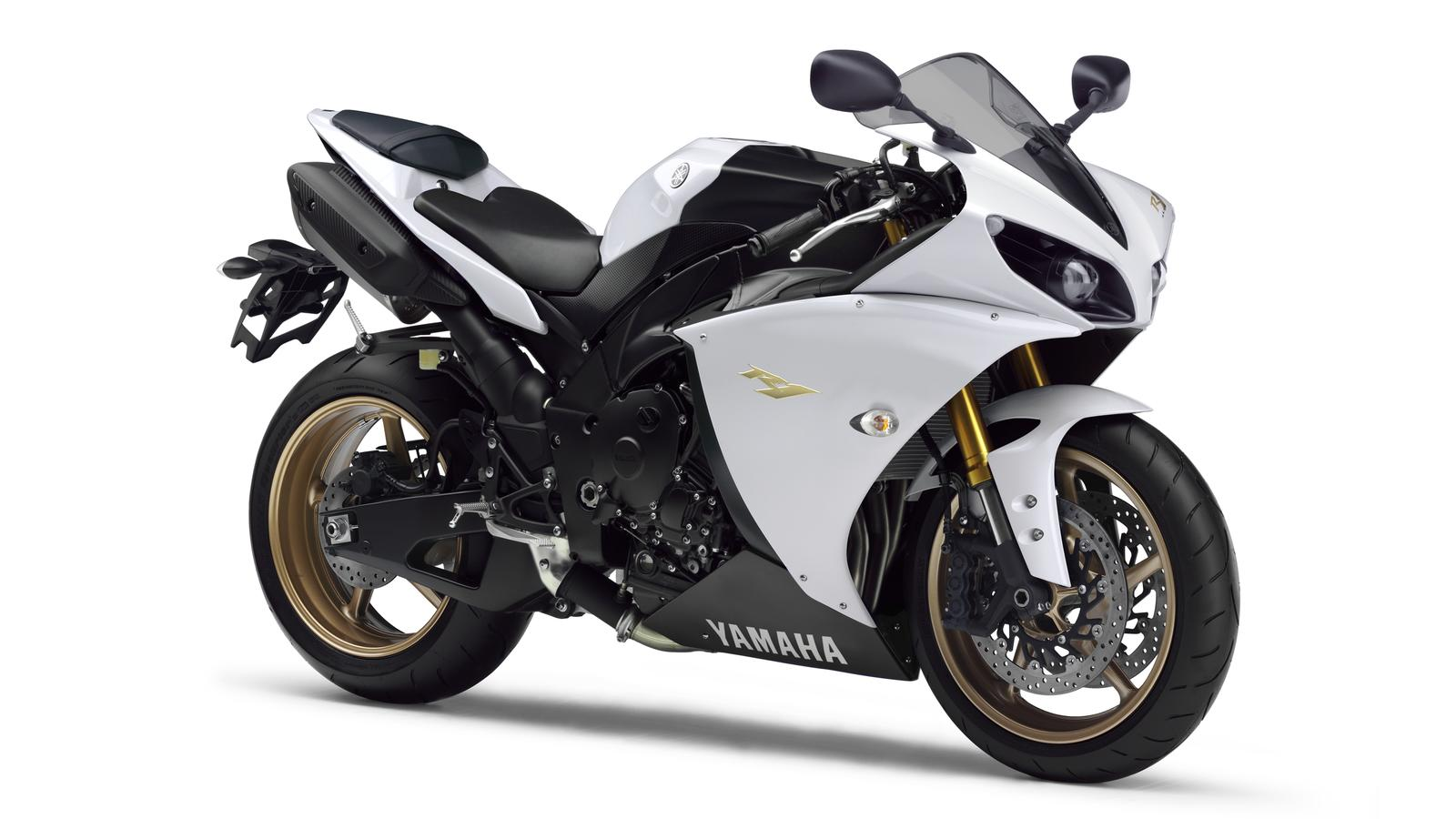 delightful white yamaha #4: 2012 Competition White R1
