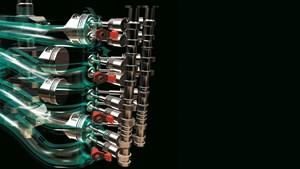16 valvole DOHC azione diretta in linea 4