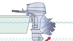 Sistema di navigazione in fondali bassi