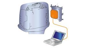 Mikrodator-ECM (Engine Control Module, elektronisk styrenhet)