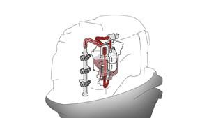 Sistema di iniezione multi–point EFI