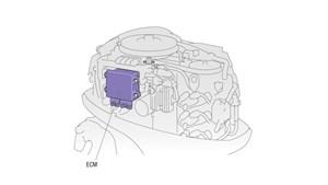 Microcomputer ECM (Engine Control Module)