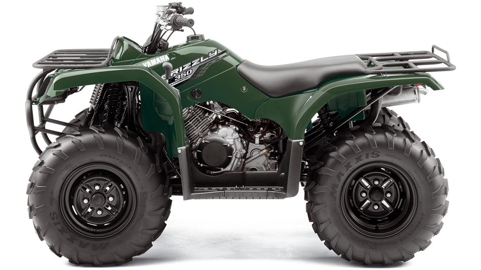 Grizzly 350 2wd 2014 Atv Yamaha Motor Uk