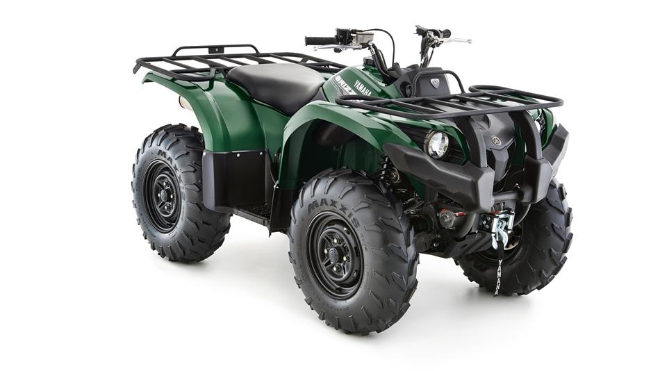 Grizzly 450 4x4 eps 2016 quad yamaha motor france for 2014 yamaha grizzly 450 value