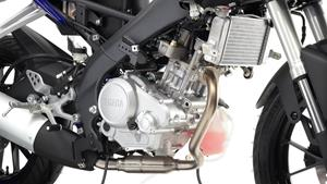 Sıvı soğutmalı, 4 zamanlı, tek silindirli motor