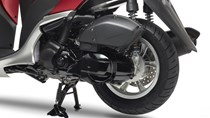 Motor a 4 tempos de 125cc, económico e de resposta rápida