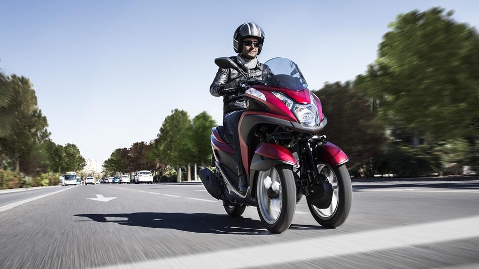 Der neue Roller: Yamaha Tricity