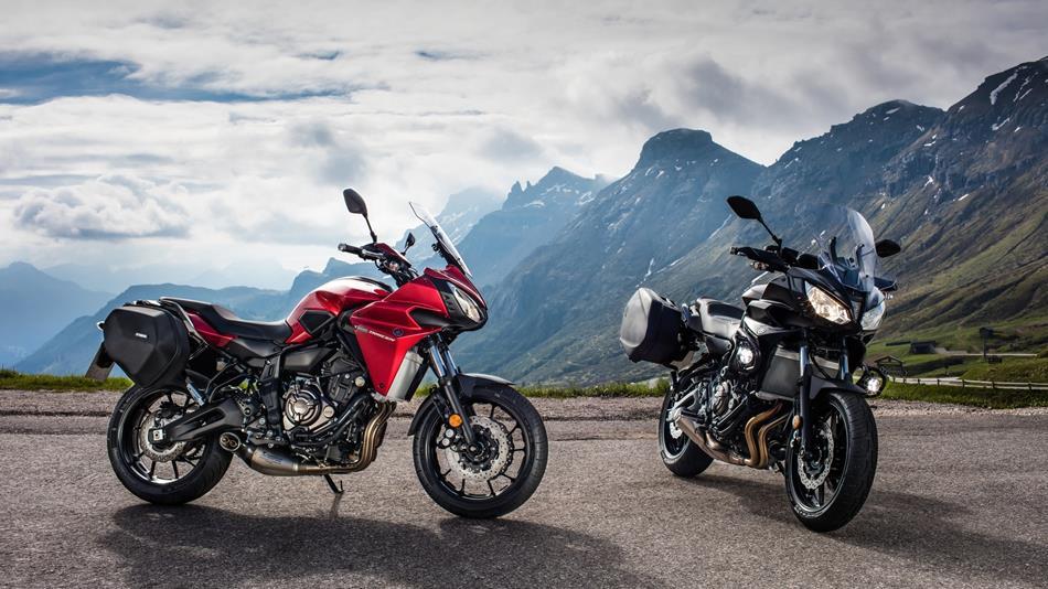 2016 Yamaha Tracer 700 EU Radical Red AccessorizedStatic