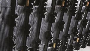 406 mm semi-wide Camoplast® Ripsaw™ track