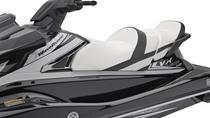 Asiento Cruiser especial en dos tonos con almacenamiento estanco
