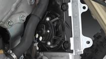 Radiator enduro cu ventilator de răcire