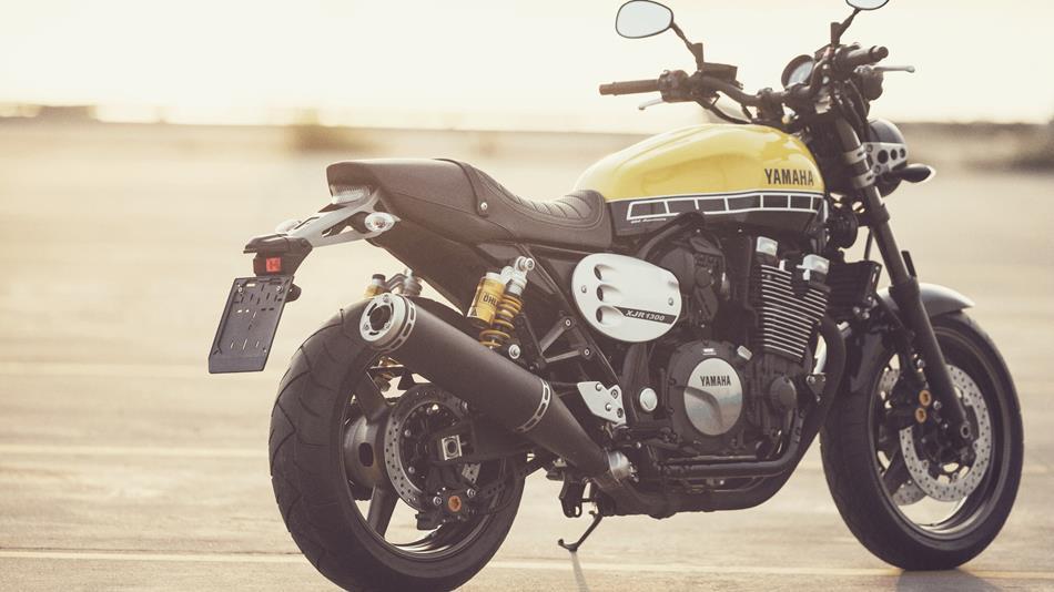 Cafe Racer Yamaha Noir Jaune