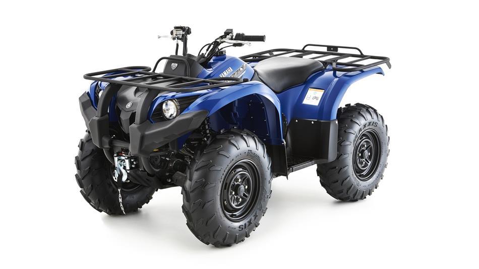 Grizzly 450 4x4 eps quad rando utilitaire yamaha for Yamaha 450 atv