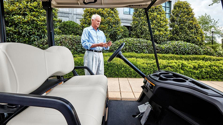Yamaha Drive Ac Ptv Glacier Golf Car