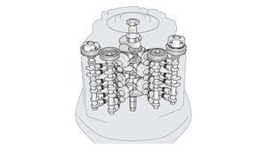 24-valve, 4.2 litre 60º V6 with DOHC, EFI & VCT