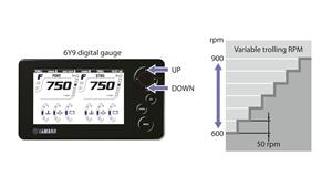 Electronic 'drive-by-wire' throttle/shift and Trolling RPM control