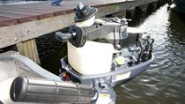 Innebygget drivstofftank med mulighet for å bytte til en ekstern tank ved hjelp av en bryter