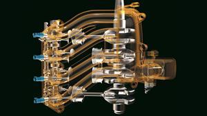 Utrolig jevn 4-sylindret finesse – med EFI