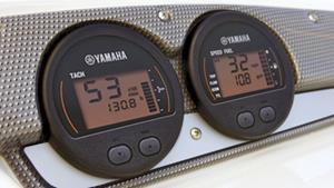 Indicateurs numériques Yamaha montés en réseau