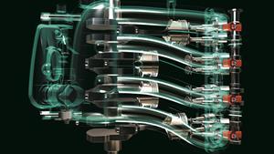 Motor de 16 válvulas DOHC