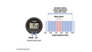 Control uşor al turaţiei motorului pentru trenare (dotare opţională)