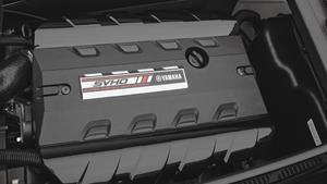 Ahdettu 1812-kuutioinen SVHO-moottori (Super Vortex High Output)