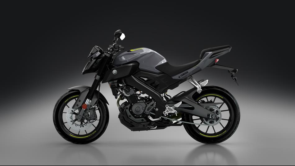 mt-125 2017 - motorcycles - yamaha motor uk