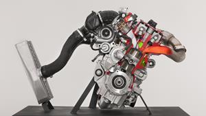 New 998cc Genesis Turbo 4-stroke engine