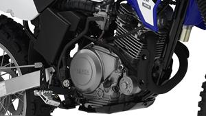 125 cc 4-stroke engine with 5-speed gearbox