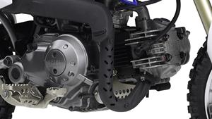 50cc 4-stroke engine with semi-automatic gearbox