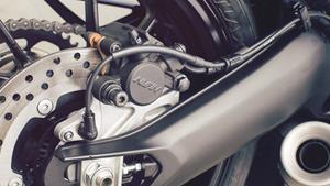 Chasis y basculante en aluminio