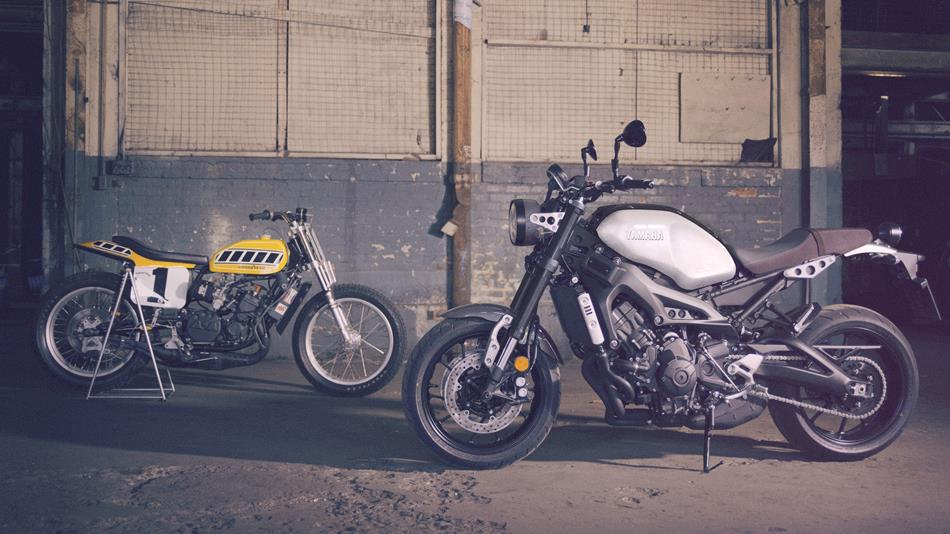2017 Yamaha XSR900 EU Garage Metal Static 005