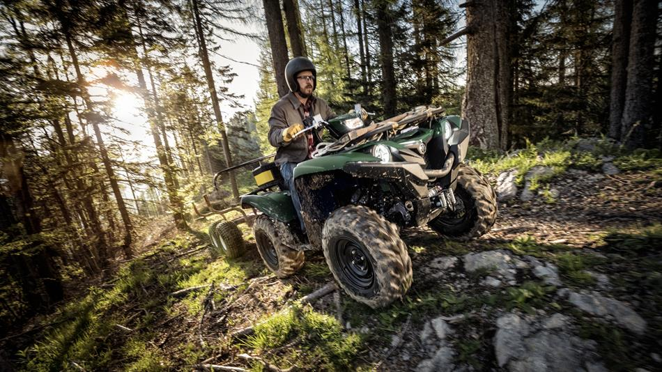Heavy sport utility vehicle irs autos post for 2017 yamaha grizzly 700 hp