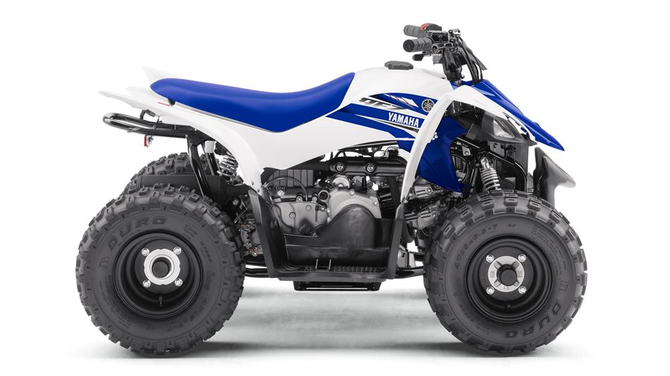 Honda Quad For Sale 2017-Yamaha-YFZ50-EU-Racing-Blue-Studio-002
