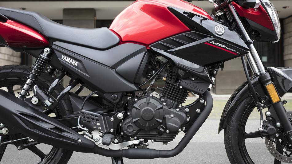 Yamaha Ys Eu Power Red Detail on Engine Lubrication System
