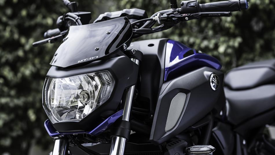 2018 Yamaha MT 07 EU Blue AccessorizedDetail