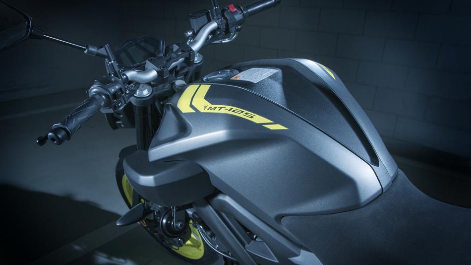 Naked Yamaha