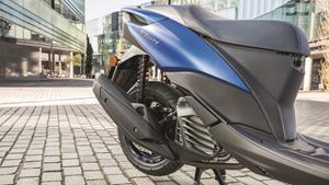 Powerful 155cc EU4-compliant engine with VVA