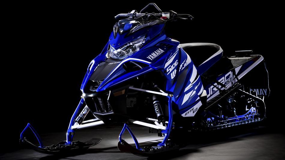 Yamaha Sidewinder M Tx Le Eu Racing Blue Detail