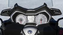 New white-on-black LCD instrument panel