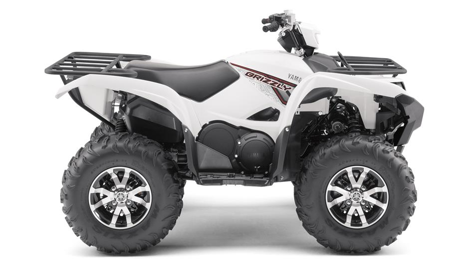 Nyhed grizzly 700 eps se 2018 firehjulere yamaha for 2018 yamaha grizzly 700 specs