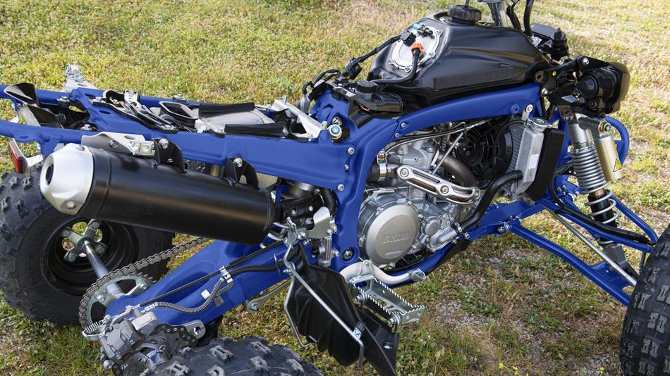 Yamaha Yfz R Eu Racing Blue Detail on Electric Motorcycle Diagram