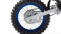 Disponível com a opção de rodas grandes (YZ85LW)