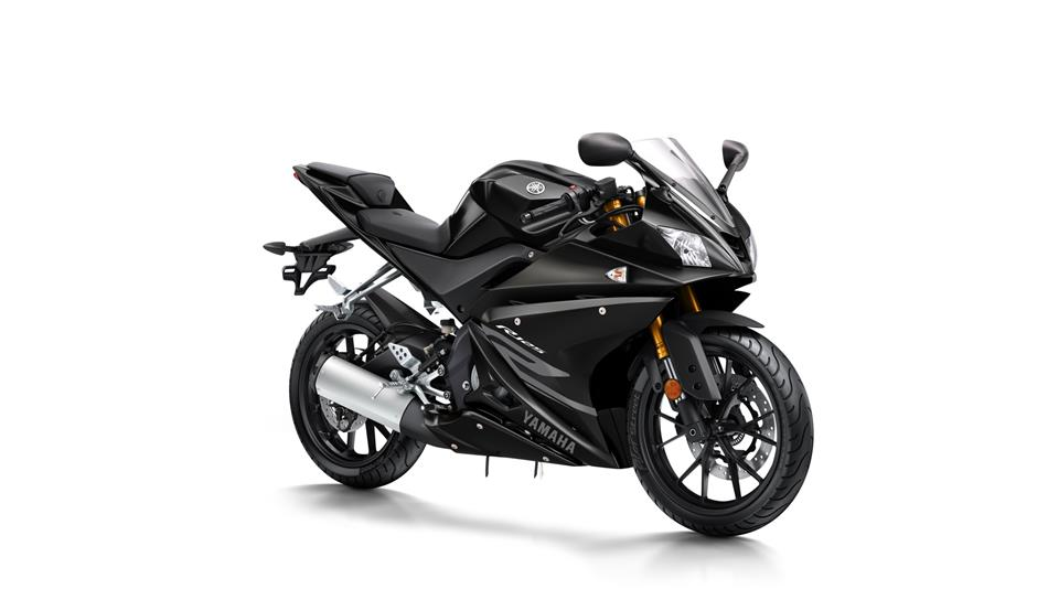 2018 Yamaha YZF R125 EU Tech Black Studio