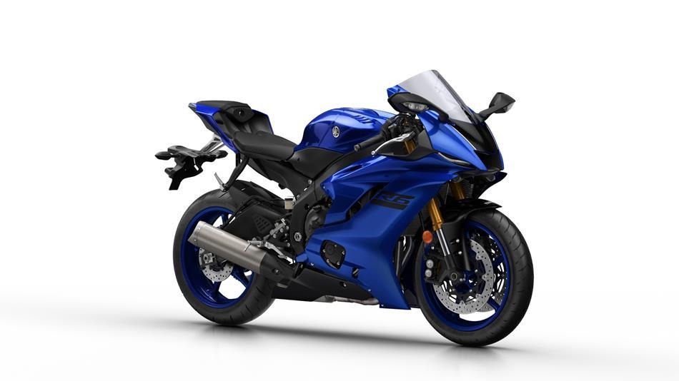 2018 Yamaha YZF R6 EU Blue Studio