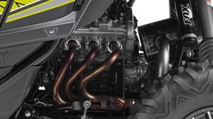 Krachtige driecilindermotor