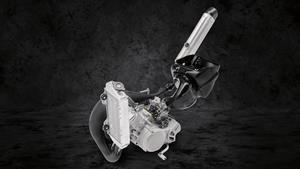Novo motor potente de 85 cc com YPVS