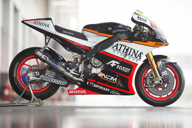 YZR-M1, Athinà Forward Racing