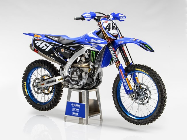 Mxgp yamaha yz450f yamaha racing for Yamaha racing team
